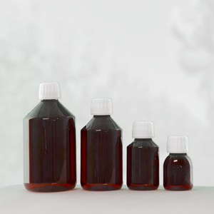 Picture for category Pet bottles pharma amber brown