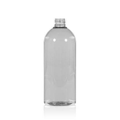 FLES 500 ML R-PET GLASHELDER TALL-BOSTON 24-410