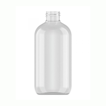 FLES 250 ML PET/GLASH BOSTON-R 24MM/410