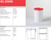 Picture of BUCKET 25 LTR PP WHITE EC (D32-27XH42CM)MH