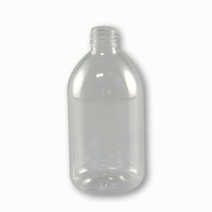 FLES 300 ML PET GLASHELDER (P) 28-410 20GR