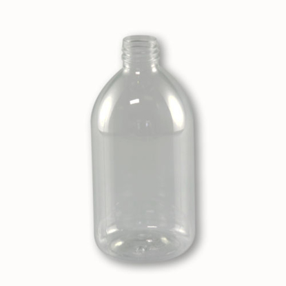 pet fles 500 ml  soap glashelder 28/410.