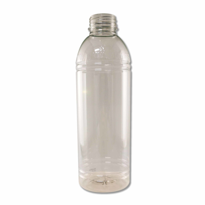 Sapflesjes 500 ml glashelder gerecycled PET materiaal