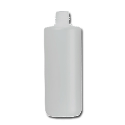 hdpe fles 250 ml  straight cylinder wit 22/410.