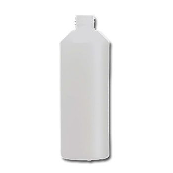 hdpe fles 500 ml  industrie rond wit 28/410.
